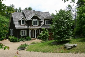 Perfectly Sized and Sited, on Rushing Water and Waterfalls $1,174,000